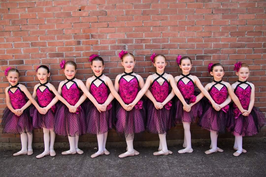 Hot pink ballet